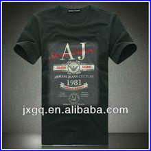 men fashion screen printing your logo 100% cotton t shirt wholesale