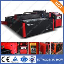 2500*1300mm YAG laser key cutting machine SD-YAG 2513
