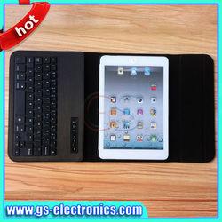 2013 for ipad mini bluetooth keyboard for apple ipad with PU leather case