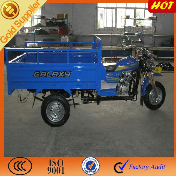 بعجلات 200cc 3 دراجة نارية لنقل البضائع