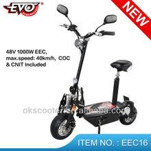 New EEC 48v 1000 watt EEC electric motor scooter