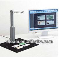 USB 2.0 portable document scanner S500L ,OCR passport ID card Scanner