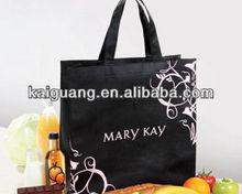 mk fashion handbags mary kay printing black shopping bag