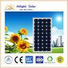 Competitive price mono 140W solar panel price with TUV, IEC, CE, CEC,ISO