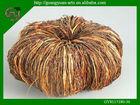 artificial wicker Halloween pumpkin wreath for decoration