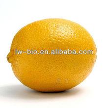 Natural organic lemon fruit powder