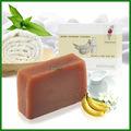 gmp fábrica de leite banana natural handmade soap