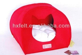 Manufacturer! Pet bed for beloved dog and cat pet made of warm and soft felt