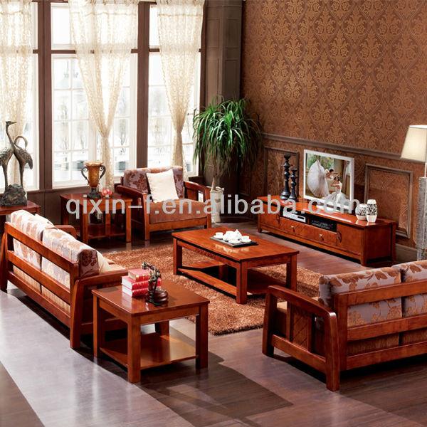 Alfa img showing solid wood sofa - Simple wood furniture design ...