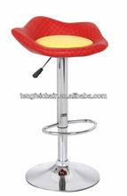 Bar stool high chair Certificated SGS gas lift,385mm chroming base,360 degree swivel!