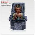 indian resina estátua de buda polyresin fonte buda