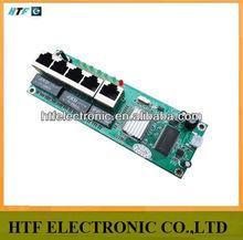 mini design OEM/ODM 4p 10/100M LAN+1P WAN PPPoE Network NAT usb wifi wireless Router Lay2 PCBA Module
