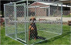 galvanized metal dog cage/Outdoor Chainlink kennel 10' *10' * 6'