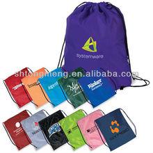 420D nylon Promotion Gift Drawstring Shopping Bag