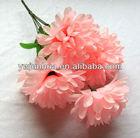 7 stems artificial flower , funeral flower bunch