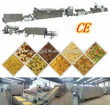 150kg- 500kg/h corn flakes macchina/linea di produzione con tecnologia italia
