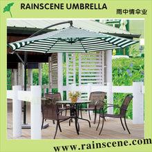 2013 venta caliente de acero banana paraguas