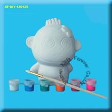 ceramic monkey paint set
