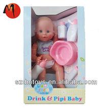 À prova d ' água de plástico do bebê bonecas vivas do bebê