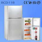 118 Liters Compressor Two Door Refrigerators BCD-118