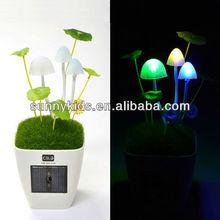 Avatar mushroom solar light led mushroom decoration light solar mushroom light