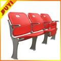 Fabricação colorida cadeiras de plástico esportes estádio colorido cadeiras de plástico BLM-4671