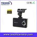 Câmera de carro manual 1080p HD DVR