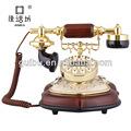antique decorativa com fio de telefone modelo para a decoração home