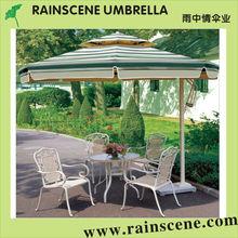 Colgando paraguas patio, voladizo sombrilla de patio, singular patio paraguas