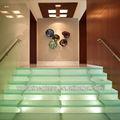 vidrio templado de escaleras