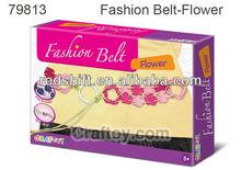 Art & craft kit Make Your fashion belt Flower