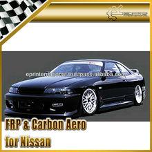 For Nissan Skyline R33 GTR GTST Carbon Fiber JP Style Front Bumper Body Kits