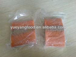frozen Chum keta salmon portion