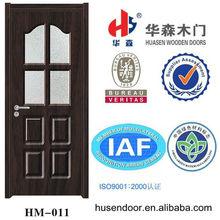 zhejiang glass door wooden bathroom decorative wooden door