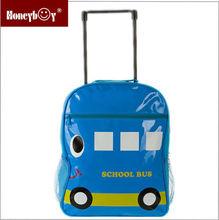 2014 unique backpack kids travel bag on wheels