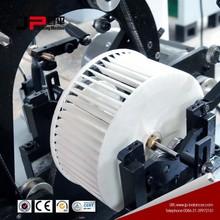 Iron fan blade dynamic balancer with Windows control