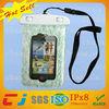 Wholesale custom hot cell phone waterproof bag for iphone 4