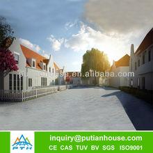 luxury functional big refabricated house plan of Belgium
