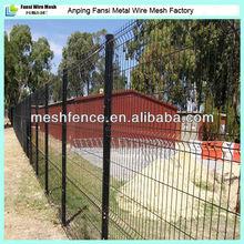 2200x1800mm V mesh boundary fencing welded powder coating