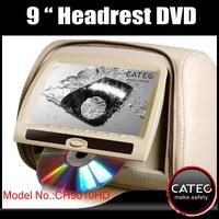 Special toyota land cruiser prado headrest dvd player for seatback entainment system