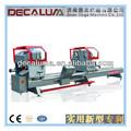 perfil de aluminio de la máquina de corte