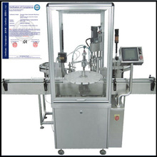automatic10-30ml eyedrop bottle filler plugging-in capping machine shanghai manufacturer