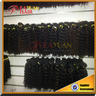 5 Top grade most famous 100% mongolian hair Virgin Hair Weave Kinky Curly