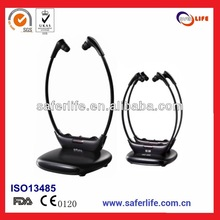 2014 TV Wireless Headphones FOR TV hearing aids with 2 receivers