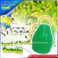 """MC15 - Caxirolas """"Sound of Brazil"""" 2014 Soccer World Cup fans hand bell"""