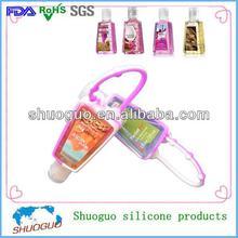 29ml promotion/wholesale bath body works silicone hand sanitizer gadget holder
