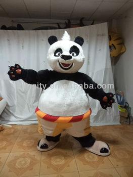 adult and kids panda mascot costume for sale