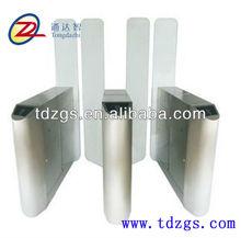 Bridge type circular bead automatic IC ID RFID card sliding turnstile gate