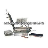 Operación Manual de la cápsula de llenado de la máquina