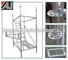 Hot dip Galvanized modular Ring lock Scaffolding/Round Ring scaffold/Wedge lock scaffolding system for concrete casting building